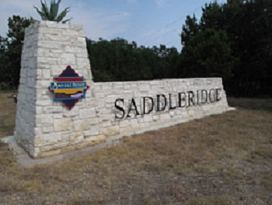 Saddleridge Entrance off RR12